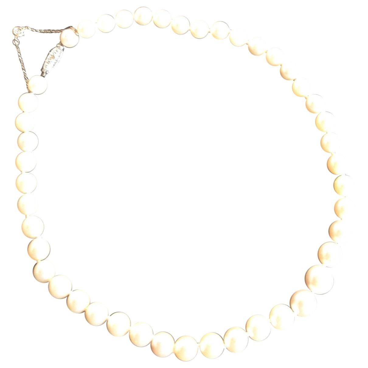 - Collier   pour femme en perles - jaune