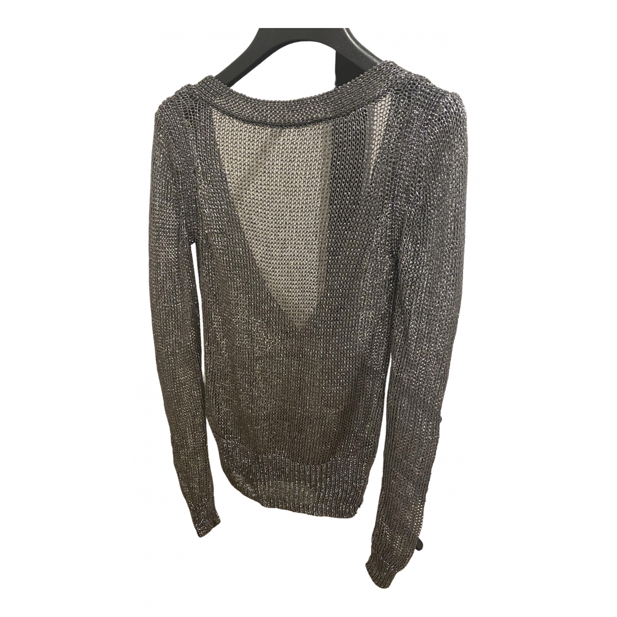 All Saints \N Pullover in  Silber Synthetik