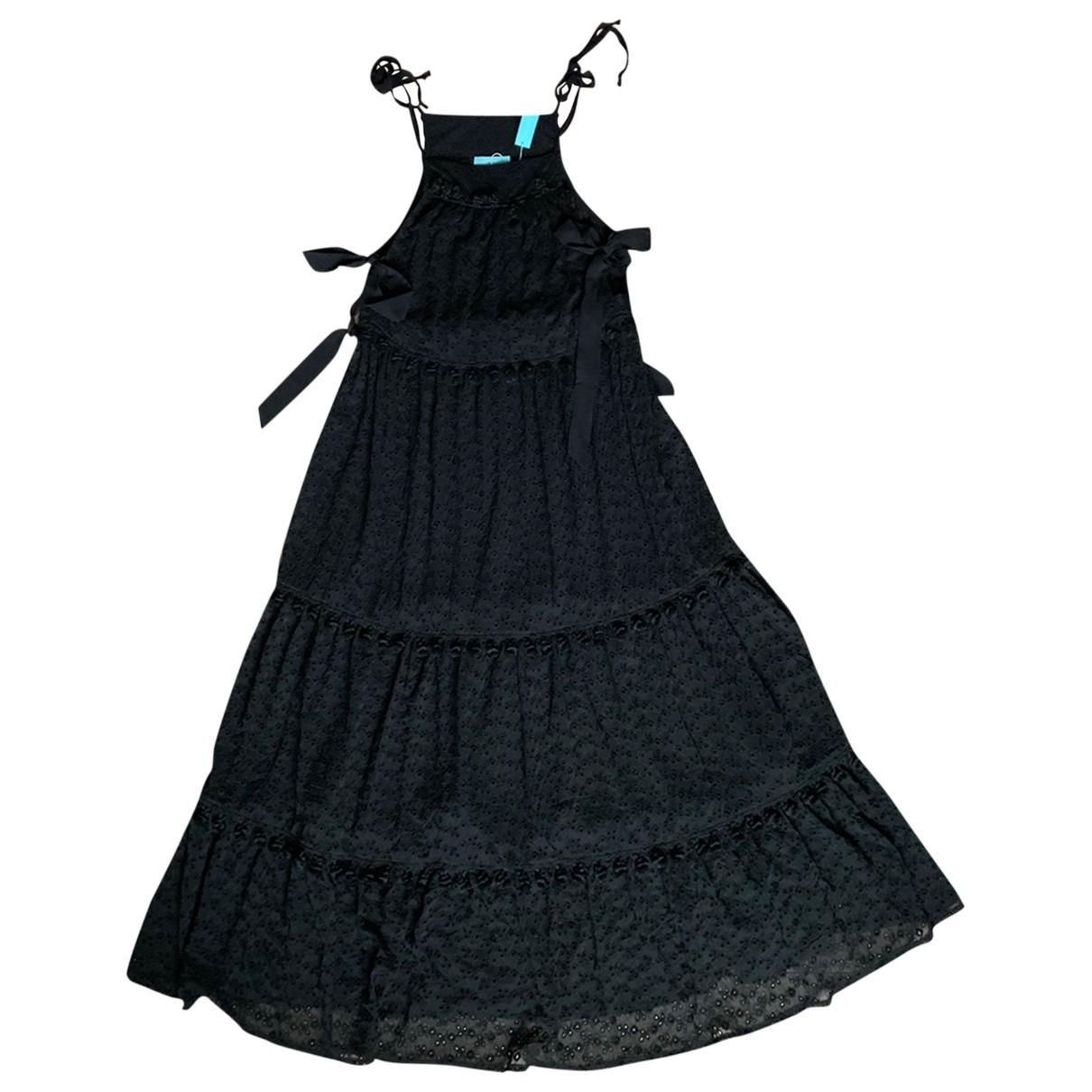 Melissa Odabash \N Kleid in  Schwarz Baumwolle