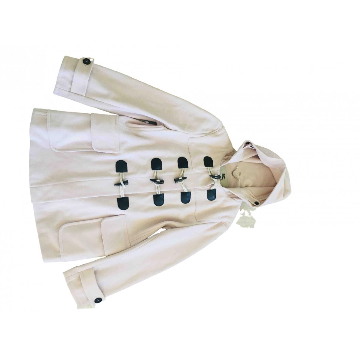 Burberry - Manteau   pour femme en laine - rose