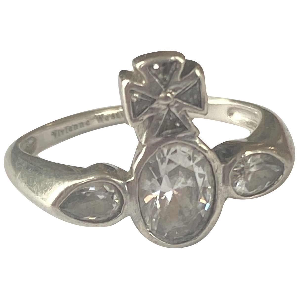 Vivienne Westwood N Silver Silver ring for Women 52 EU