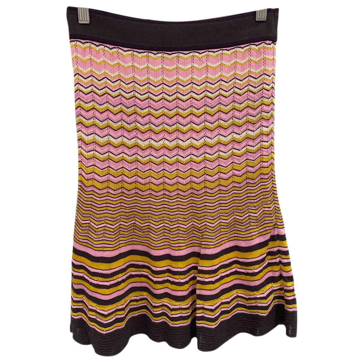 M Missoni N Multicolour Cotton skirt for Women 38 FR