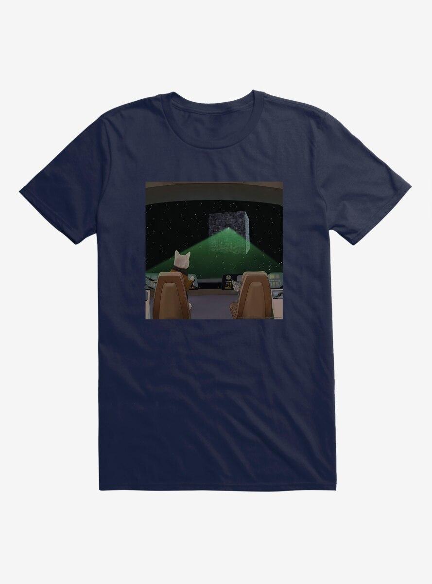Star Trek The Next Generation Cats Space Navigation T-Shirt
