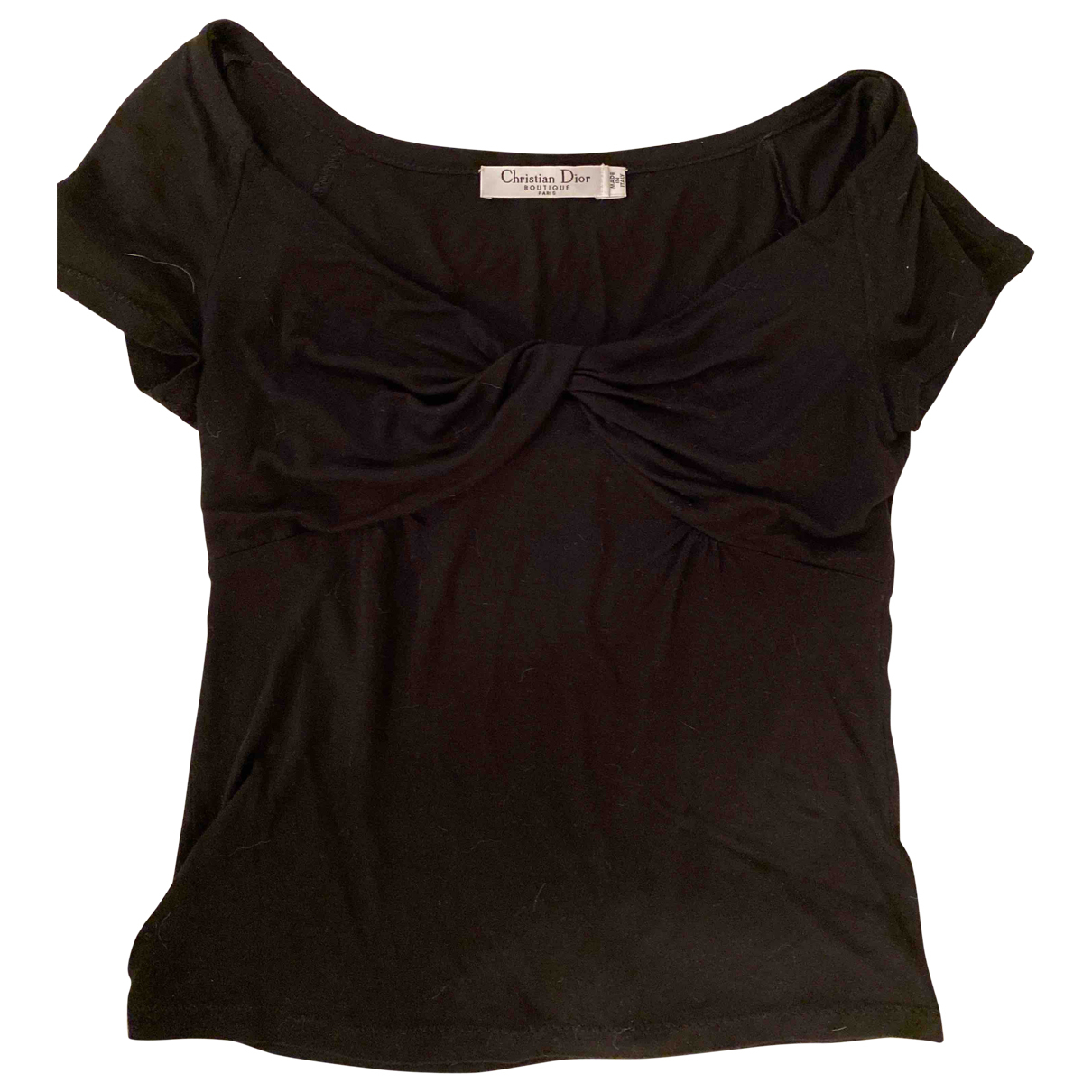Christian Dior N Black  top for Women 40 IT