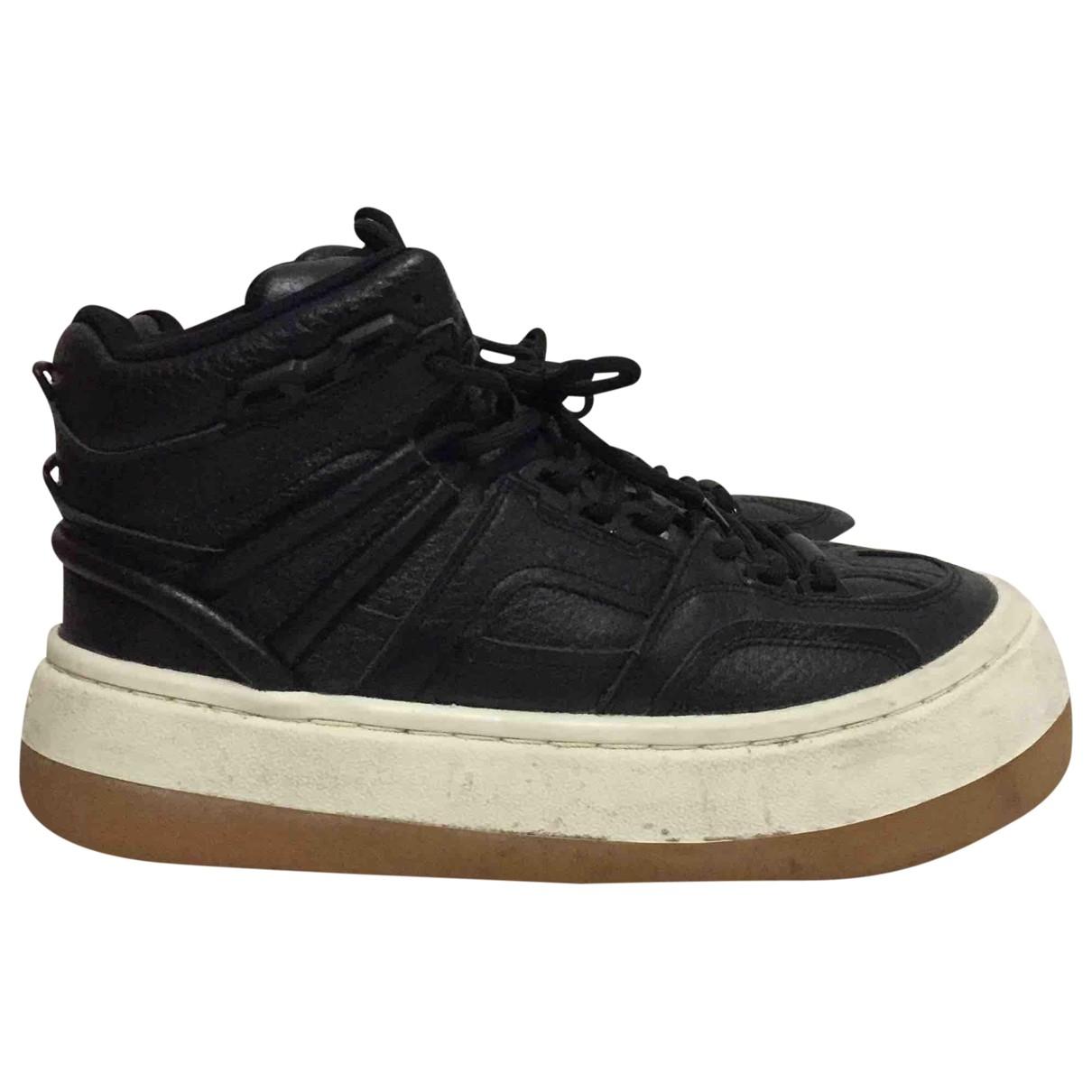 Eytys - Baskets   pour homme en cuir - noir
