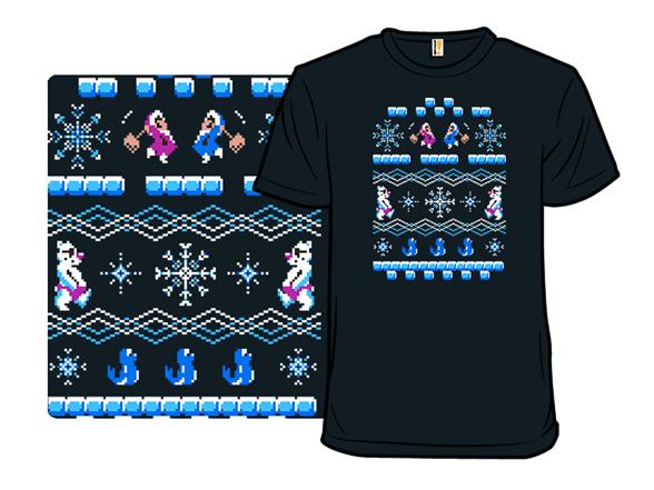 Ice Climber Winter Sweater T Shirt
