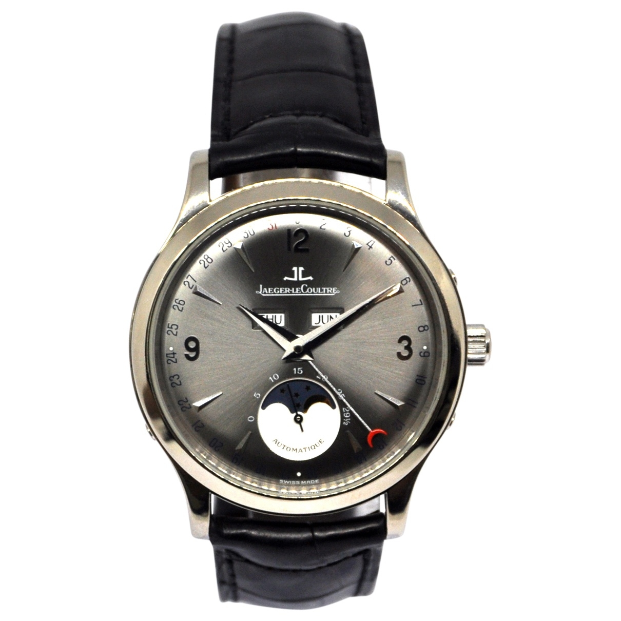Jaeger-lecoultre Master Control  Uhr in Weissgold