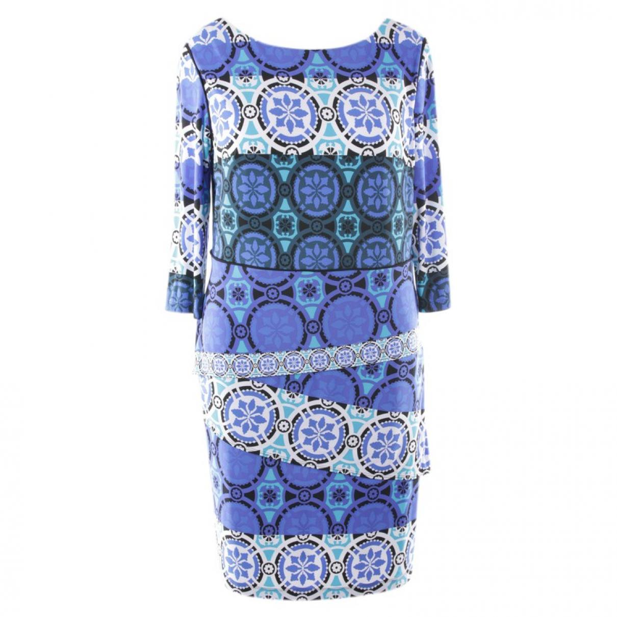 Joseph Ribkoff \N Kleid in  Blau Synthetik