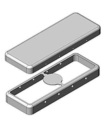 Masach Tech Cover for use with Board Level Shielding, PCB - 42.3mm Length
