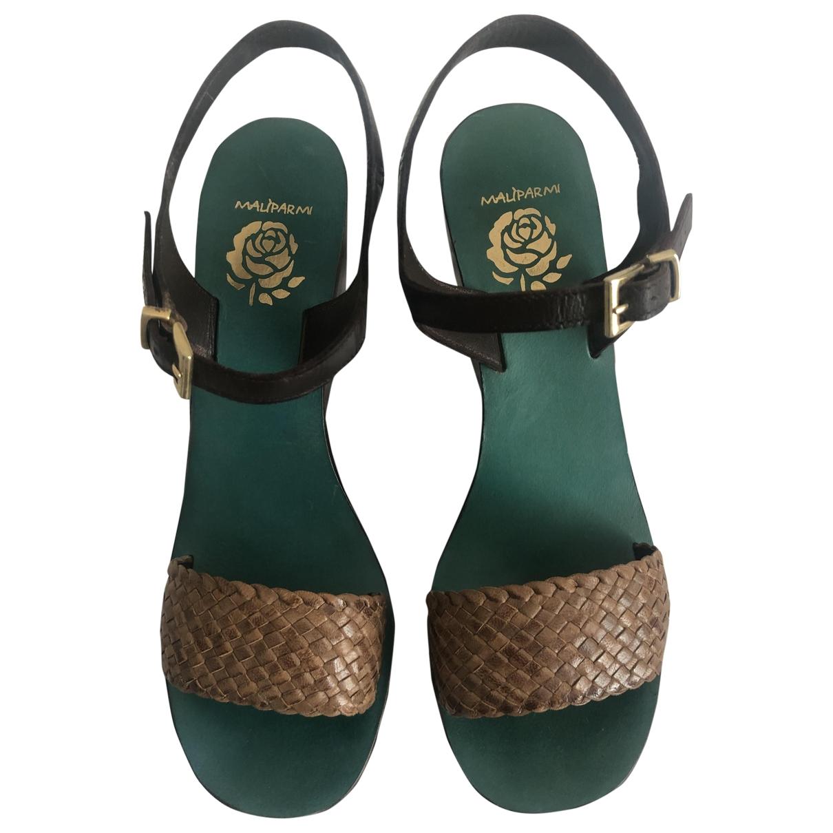 Sandalias de Cuero Maliparmi