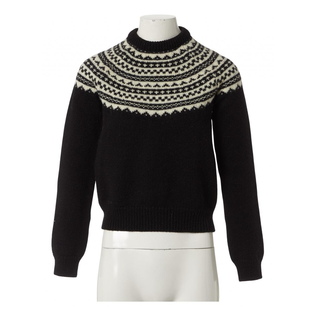 Saint Laurent N Black Wool Knitwear for Women M International