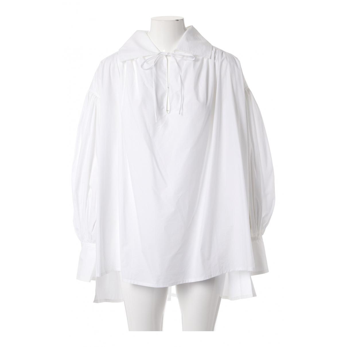 Faith Connexion - Top   pour femme en coton - blanc