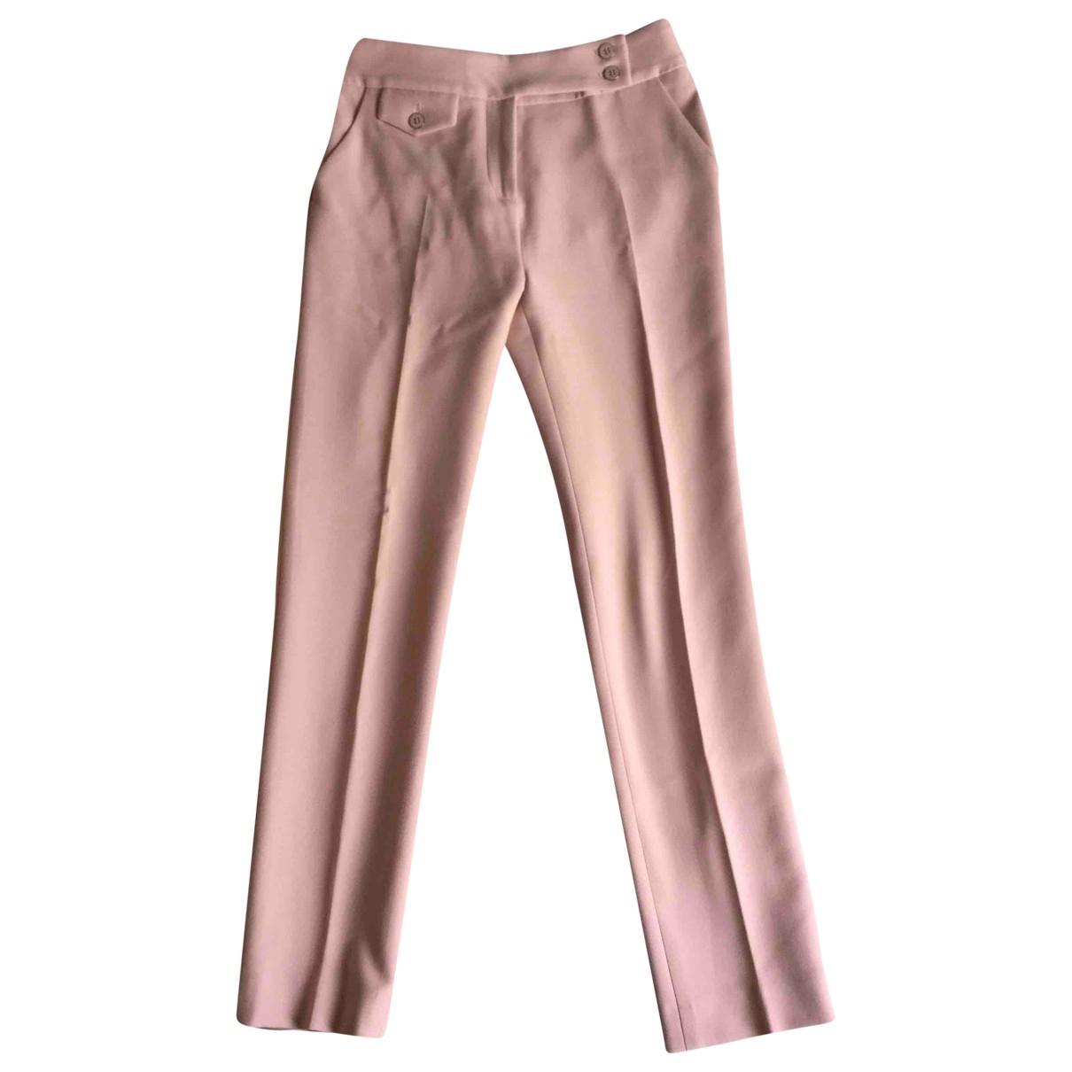 Veronica Beard \N Pink Trousers for Women XS International