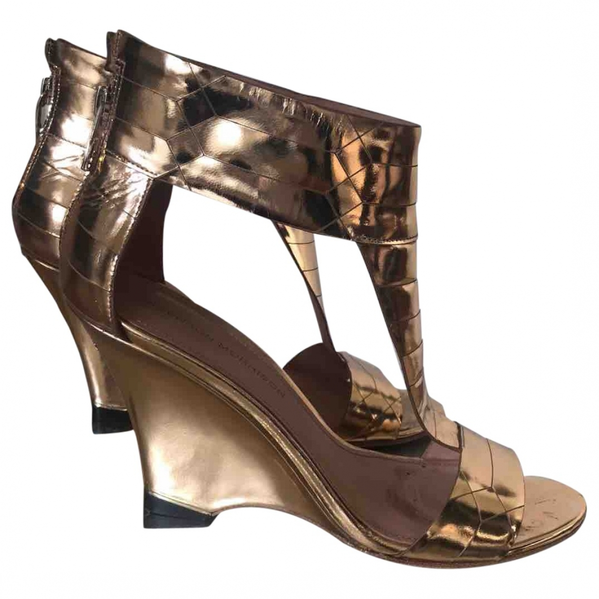 Sandalias de Cuero Sigerson Morrison