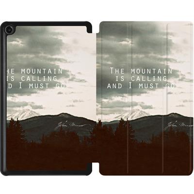 Amazon Fire 7 (2017) Tablet Smart Case - The Mountain Is Calling von Leah Flores