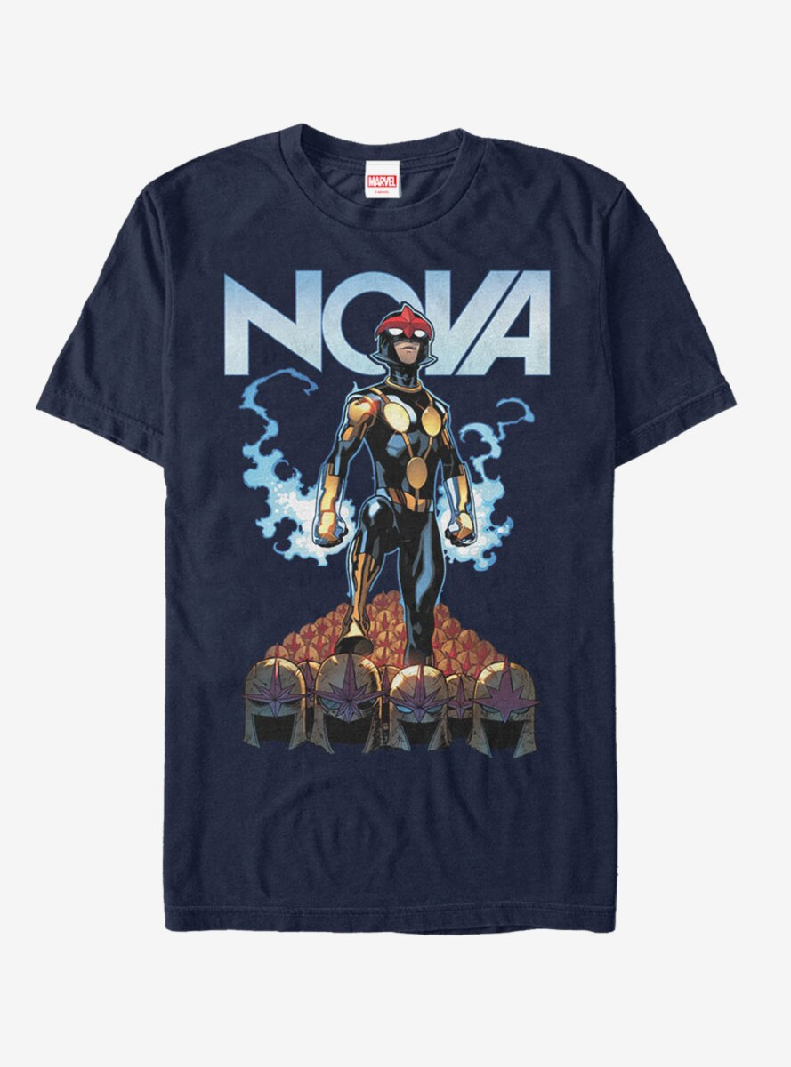 Marvel Nova Helmet T-Shirt