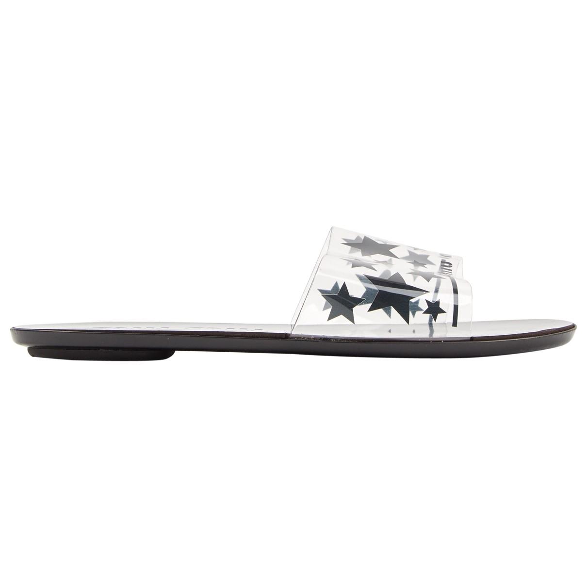 Miu Miu \N Sandalen in  Schwarz Kunststoff