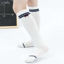 Kleinkind Maedchen Socken mit Streifen Muster