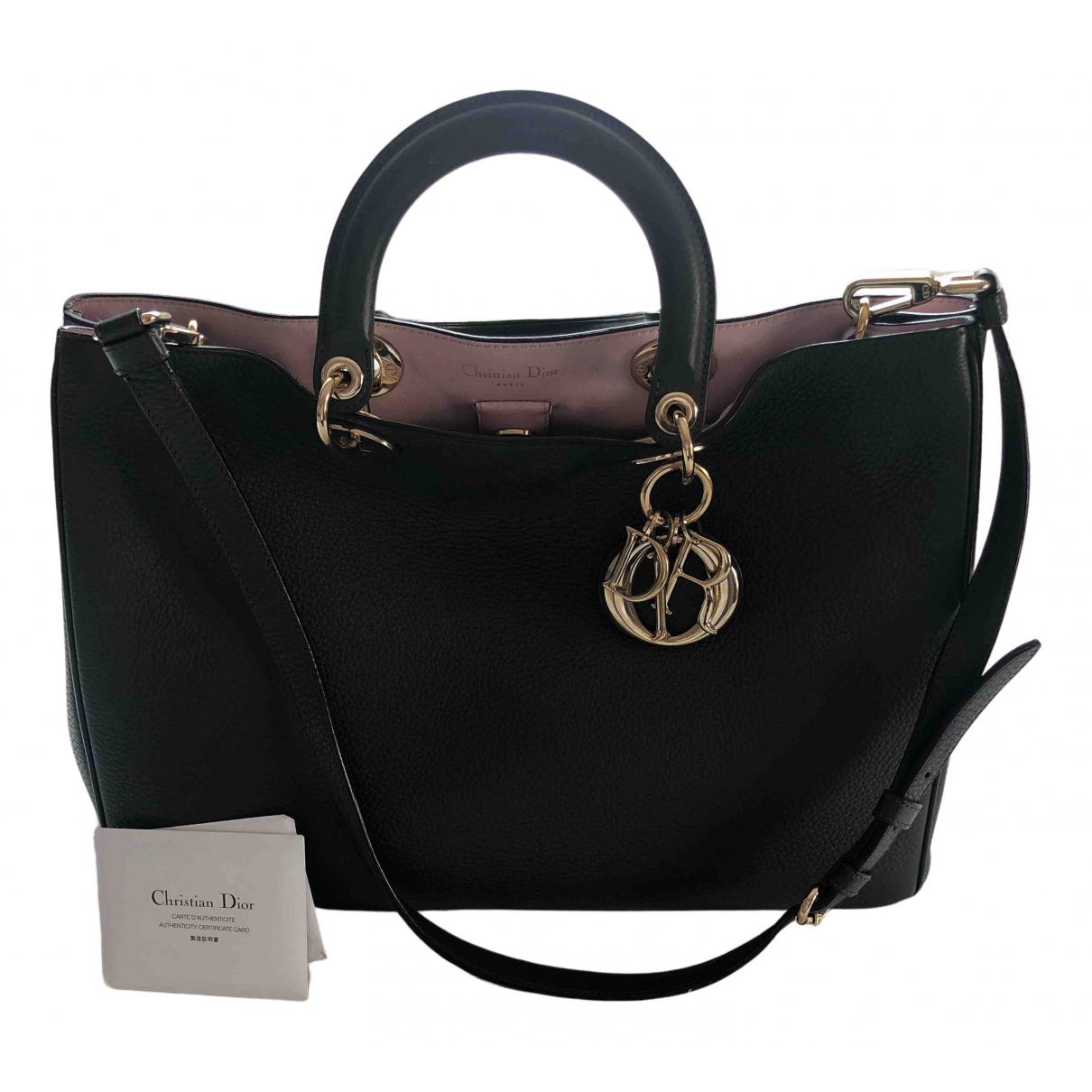 Dior Diorissimo Green Leather handbag for Women N