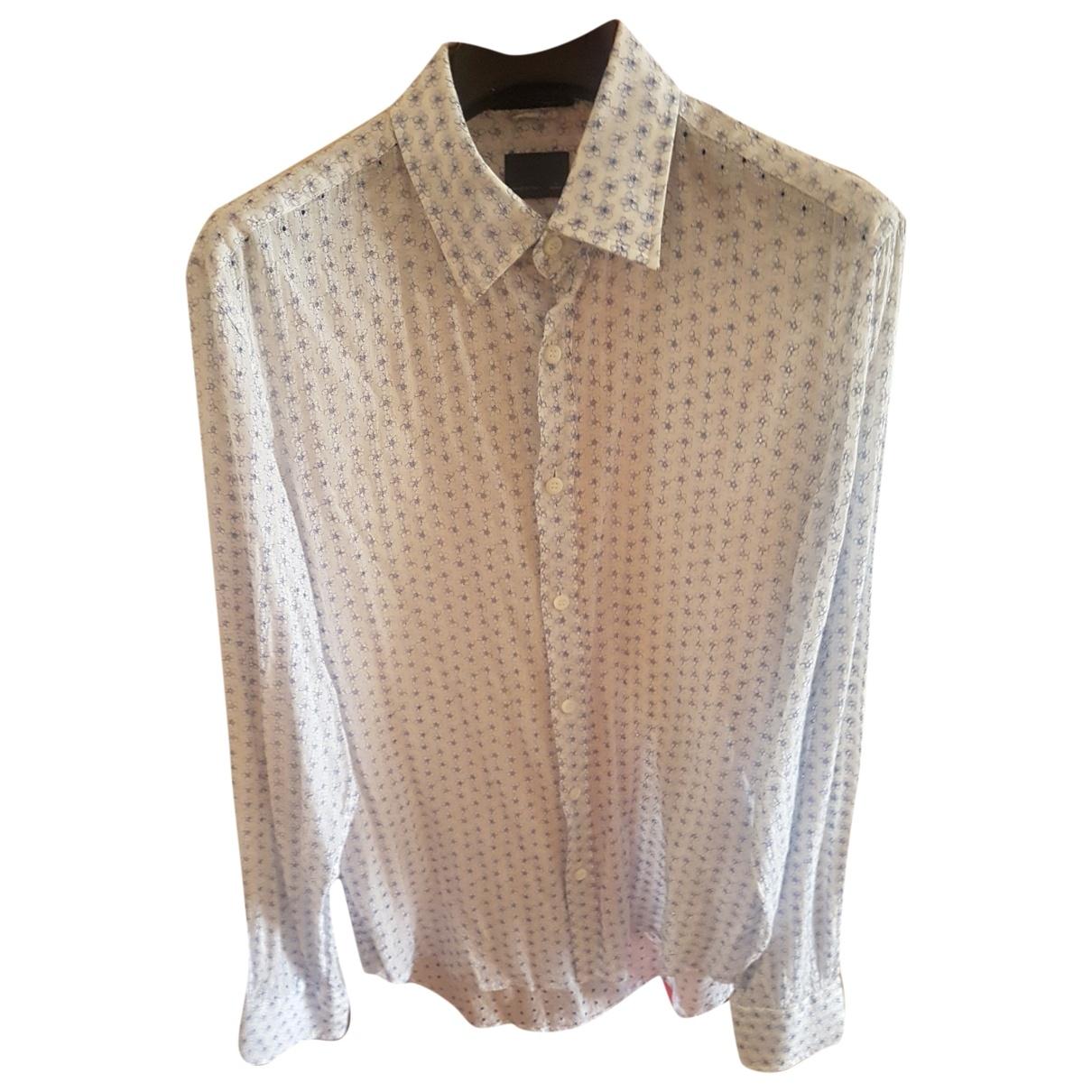 Fendi - Chemises   pour homme en coton - blanc