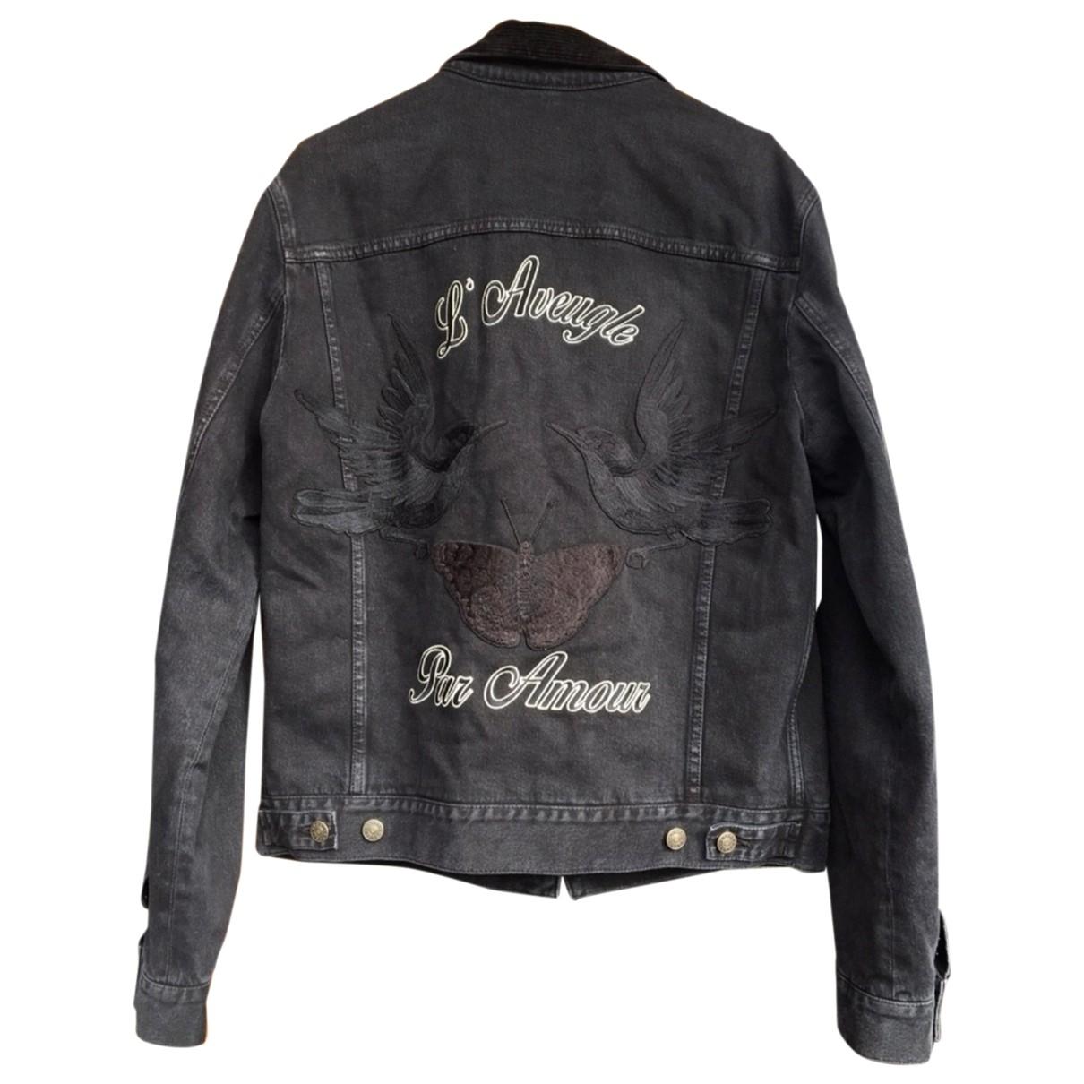 Gucci - Vestes.Blousons   pour homme en coton - noir