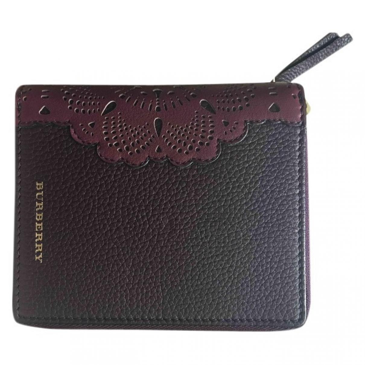Burberry - Objets & Deco   pour lifestyle en cuir - bordeaux