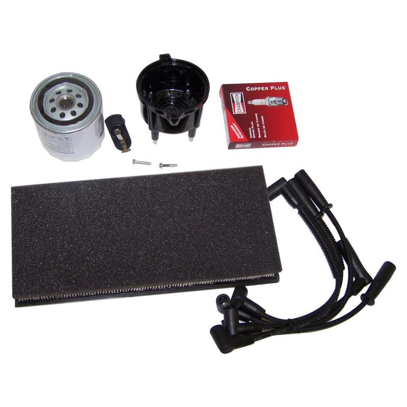 Crown Automotive TK26 Jeep Replacement Tune Up Kit for 99-02 Jeep TJ Wrangler w/ 2.5L Engine Jeep