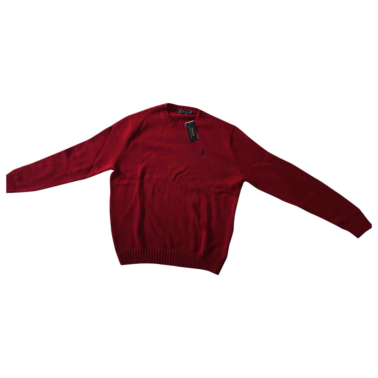 Polo Ralph Lauren - Pulls.Gilets.Sweats   pour homme en coton - rouge