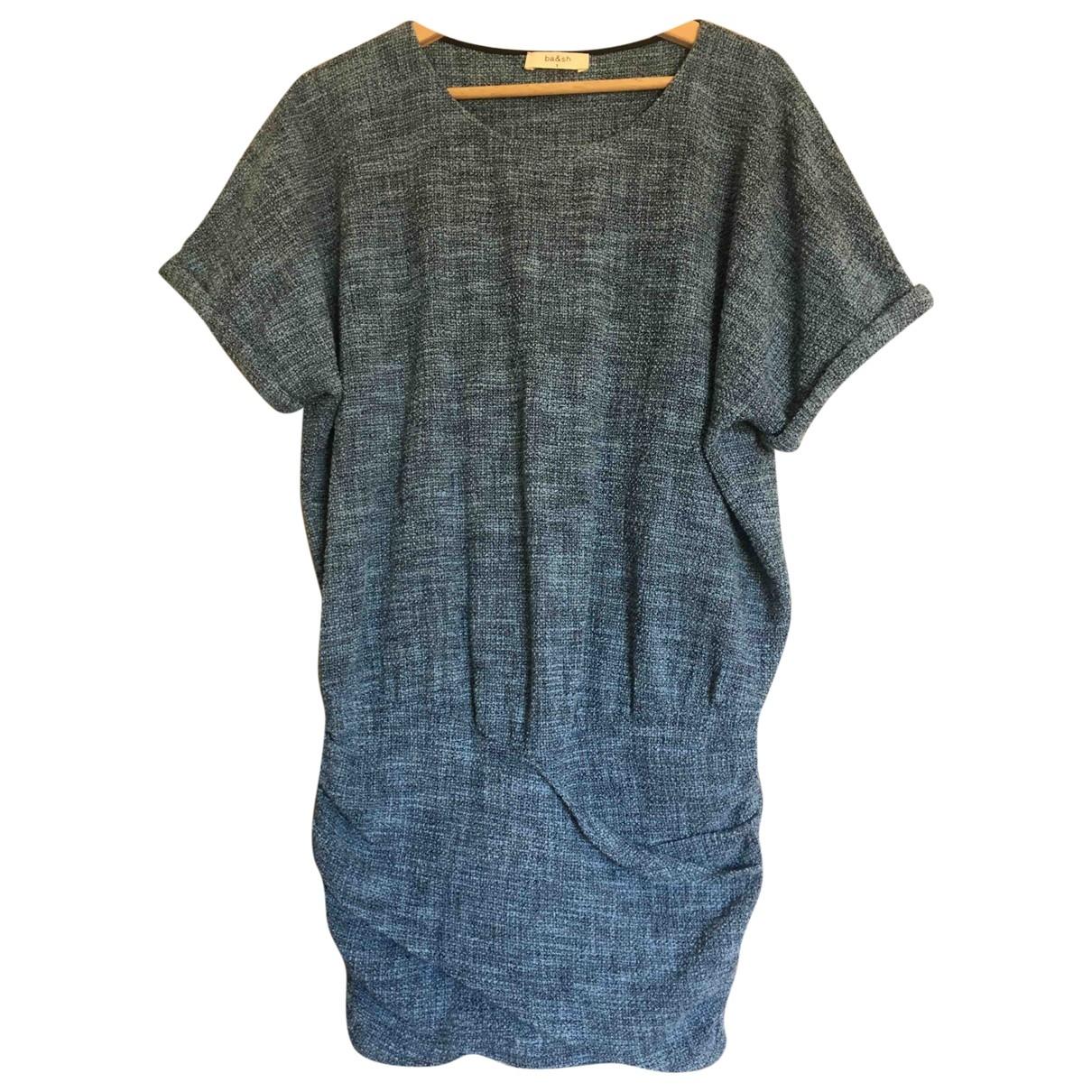Ba&sh - Robe   pour femme en coton - bleu
