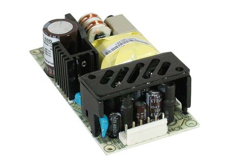 Mean Well , 46.5W Embedded Switch Mode Power Supply SMPS, ±5 V dc, ±12 V dc, Open Frame, Medical Approved