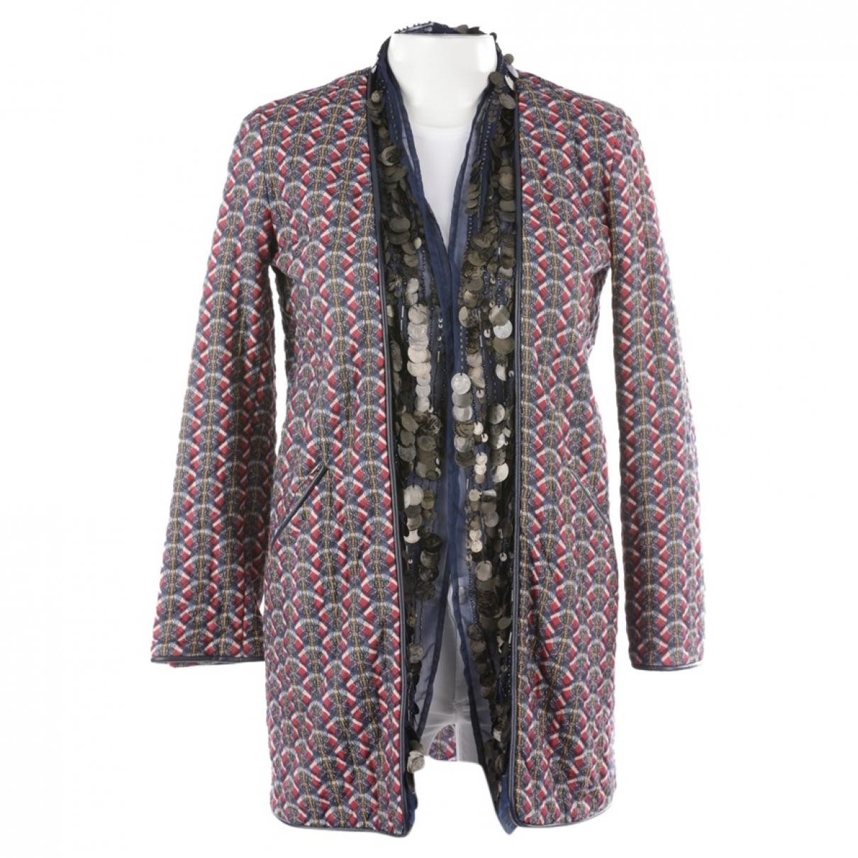 Bazar Deluxe - Veste   pour femme en coton - multicolore