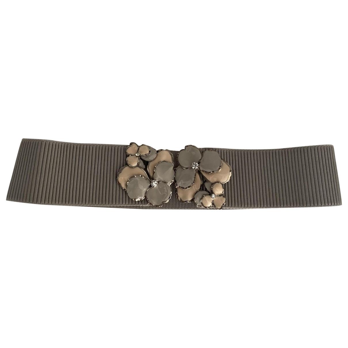 Sport Max \N Grey Cloth belt for Women M International