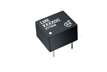 Murata Power Solutions LME 0.25W Isolated DC-DC Converter Through Hole, Voltage in 4.5 → 5.5 V dc, Voltage out