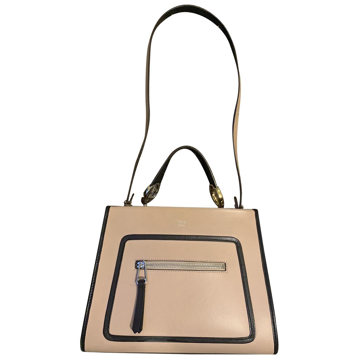 Fendi Runaway Pink Leather handbag for Women N
