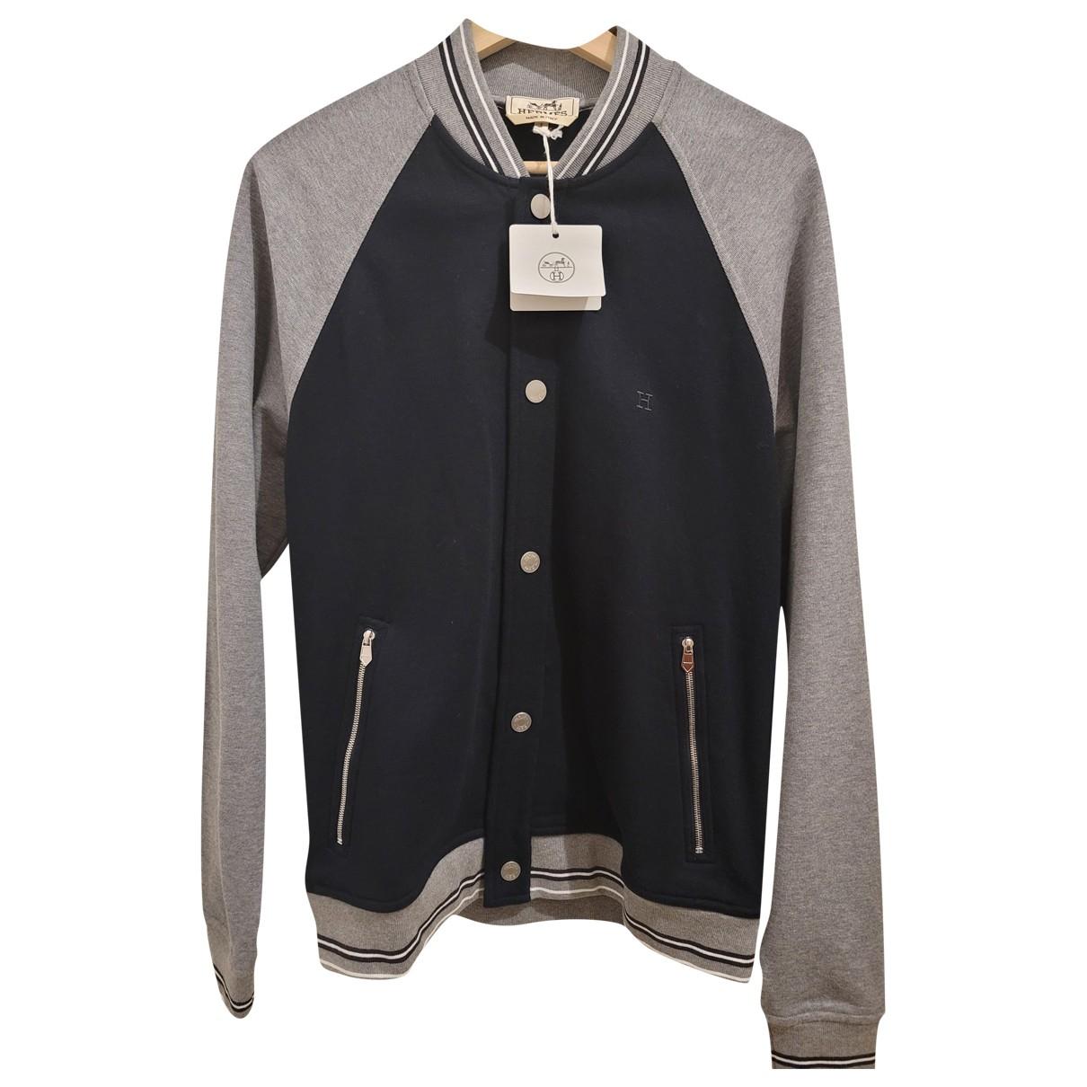 Hermès N Navy Cotton jacket  for Men S International