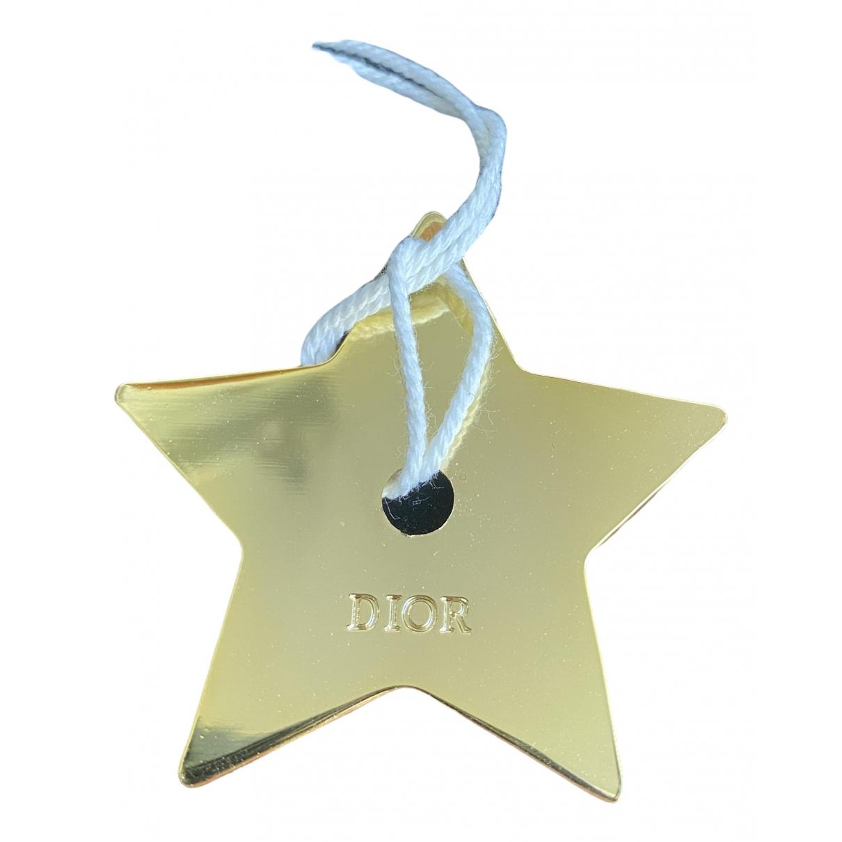 Dior - Objets & Deco   pour lifestyle en acier - dore