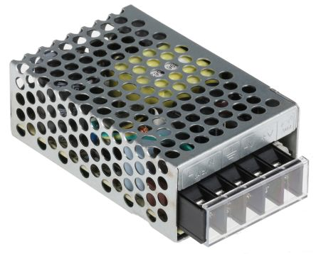 Mean Well , 25W Embedded Switch Mode Power Supply SMPS, 5V dc, Enclosed