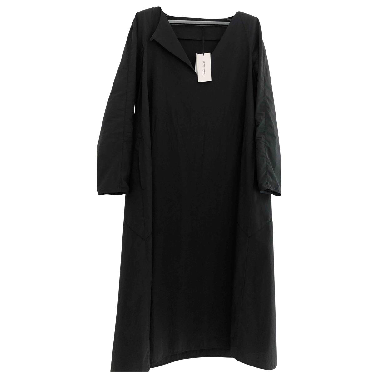 Tomas Maier \N Kleid in  Schwarz Baumwolle
