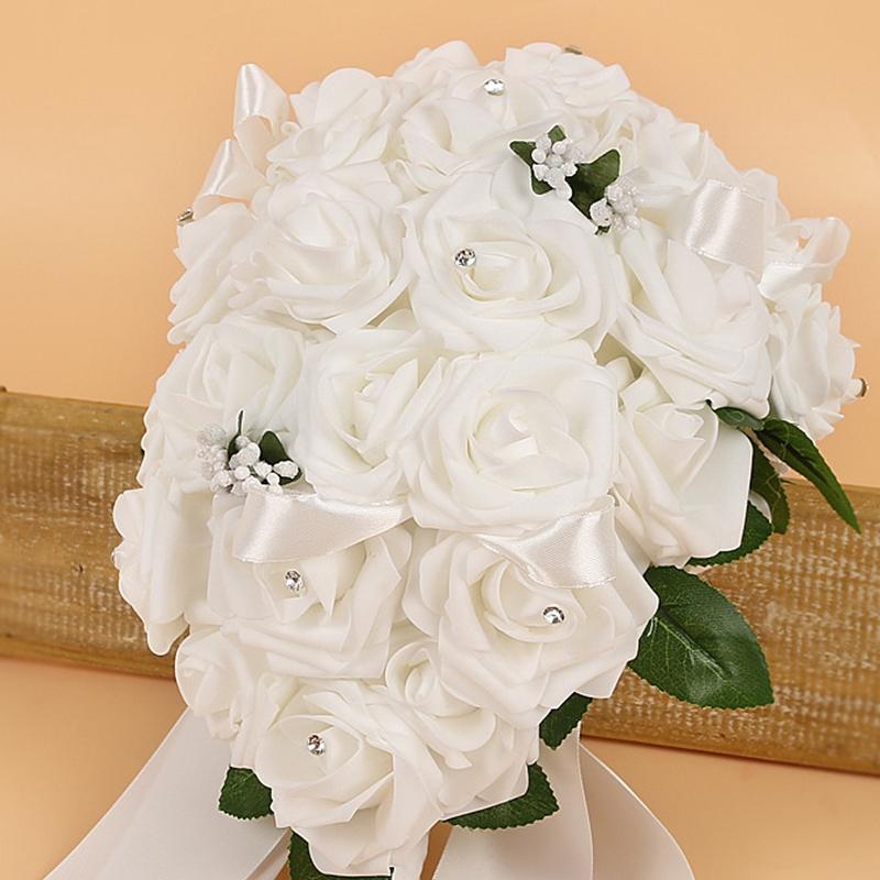 Cloth Rose European Wedding Decorating Flowers