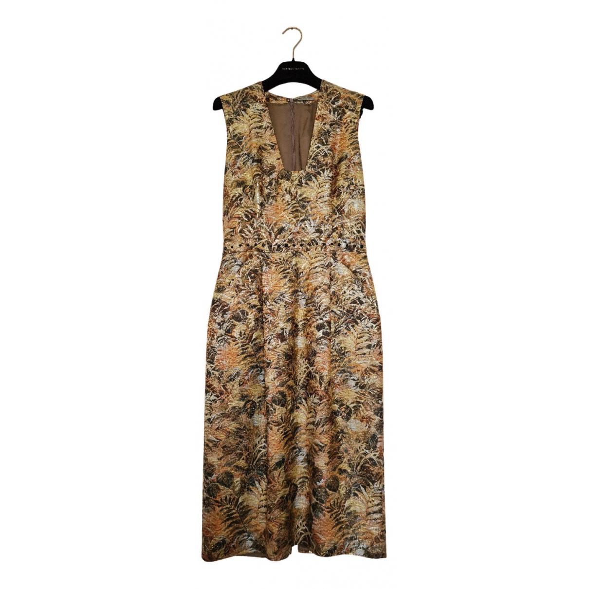 Bottega Veneta - Robe   pour femme en soie - dore