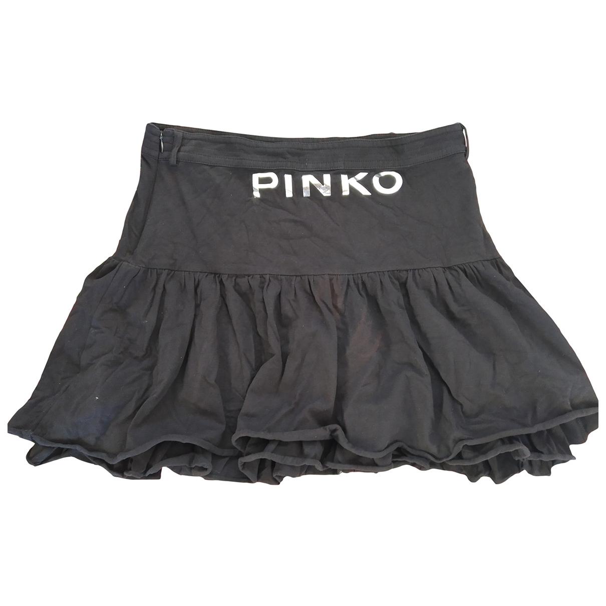 Pinko \N Rocke in  Schwarz Baumwolle
