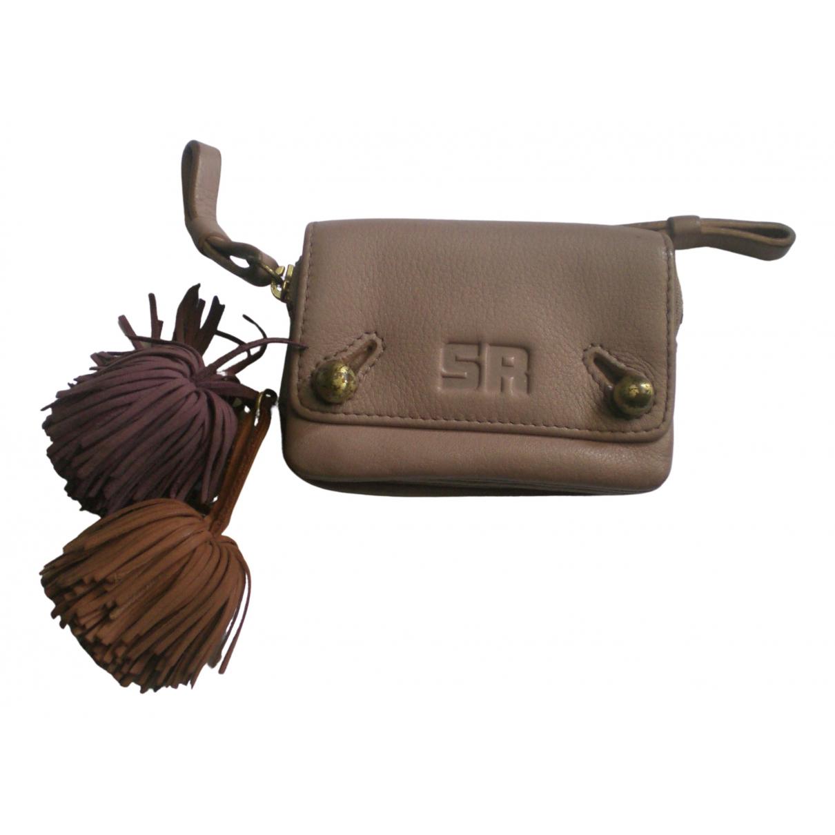 Sonia Rykiel - Petite maroquinerie   pour femme en cuir - violet