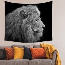 Lion Print Tapestry