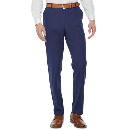 JF J.Ferrar Mens Super Slim Fit Suit Pants, 28 30, Blue