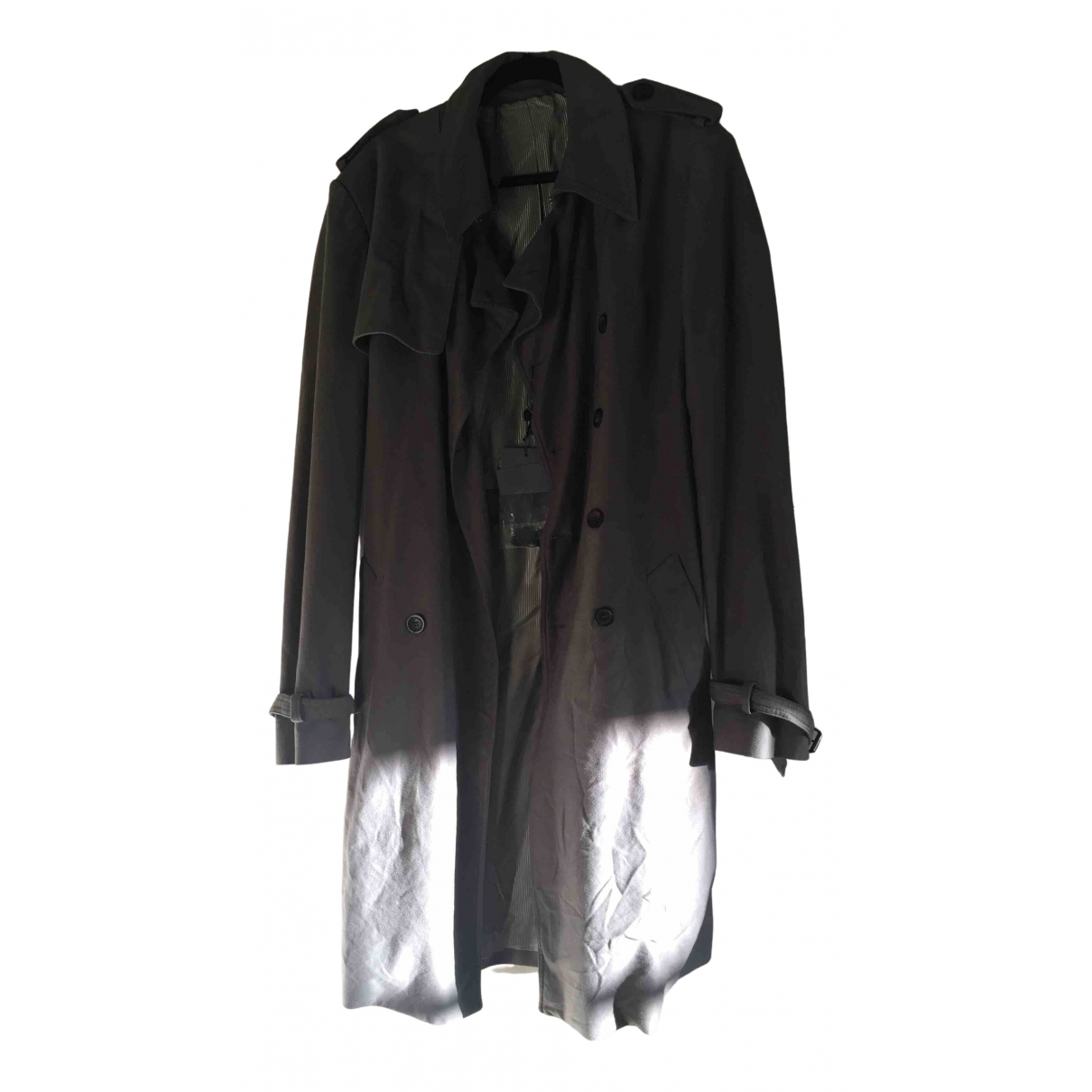 Mcq - Manteau   pour homme en coton - gris