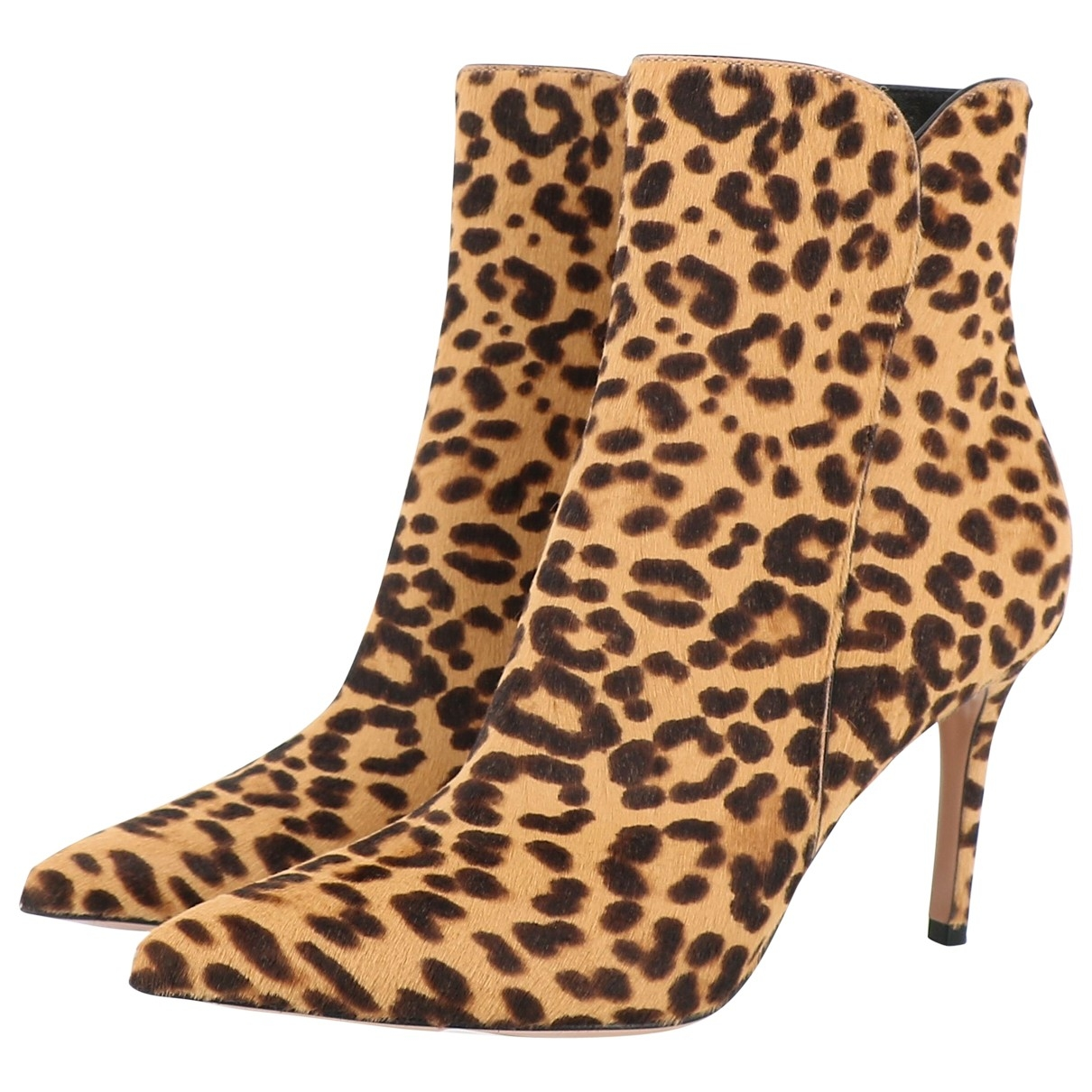 Gianvito Rossi \N Brown Pony-style calfskin Ankle boots for Women 37 EU