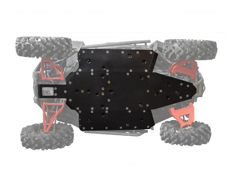 SuperATV FSP-P-RZR900 Full Skid Plate Polaris RZR S 900 15-17