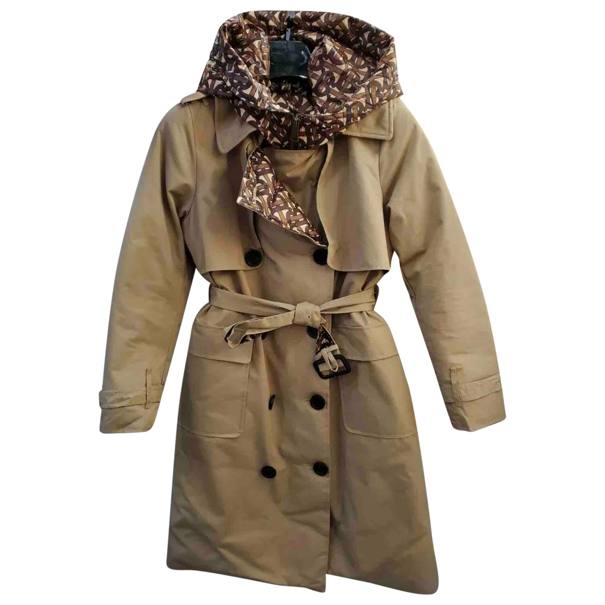 Burberry N Beige Cotton Trench coat for Women L International