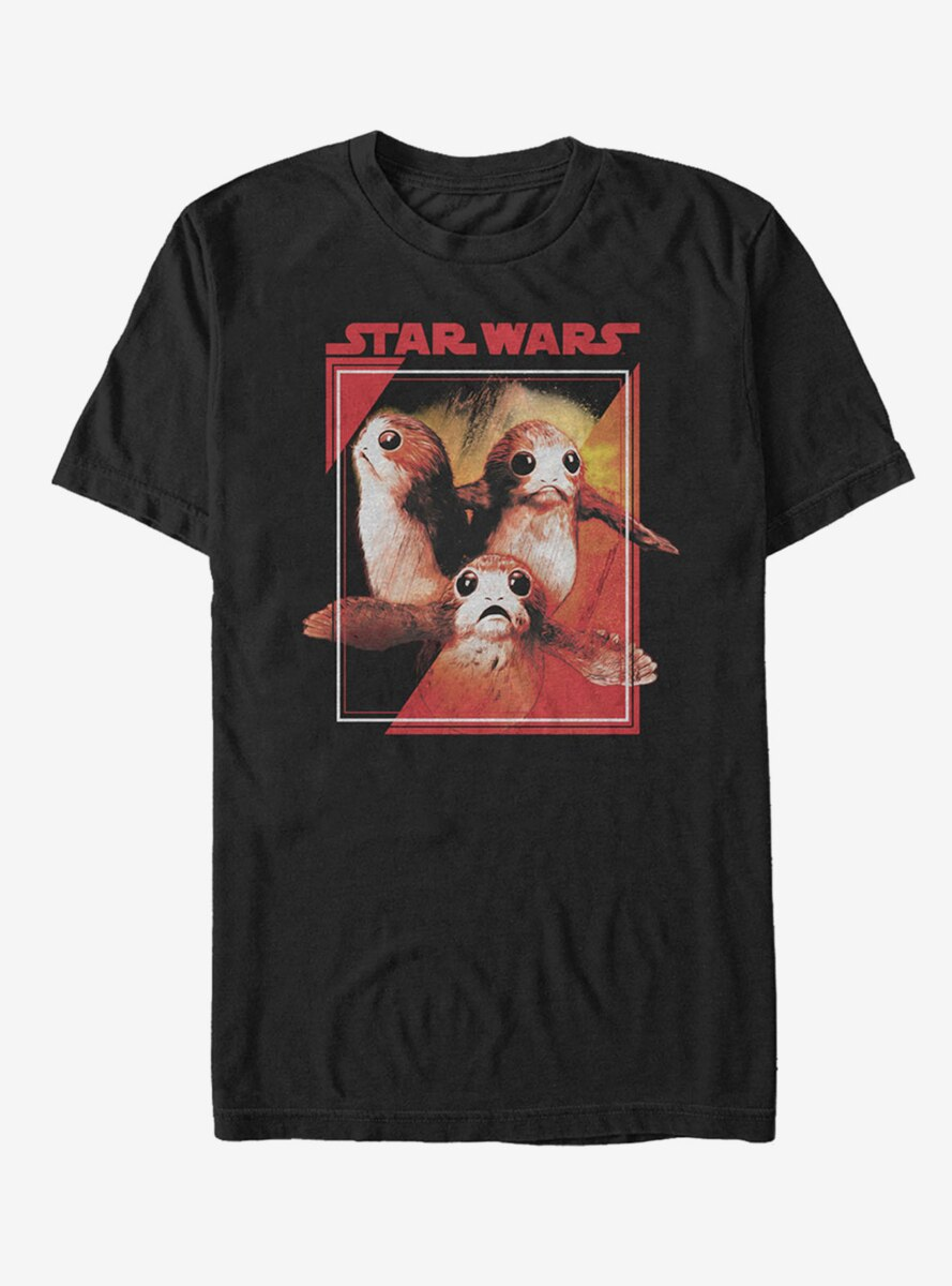 Star Wars Porg Wings T-Shirt