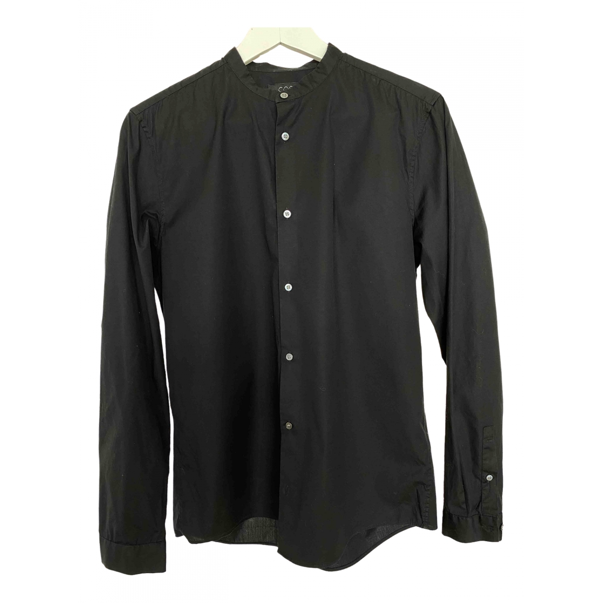 Cos \N Black Cotton Shirts for Men S International